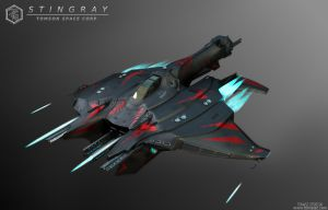 Stingray Spaceship
