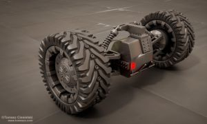 Uniaxial vehicle 2
