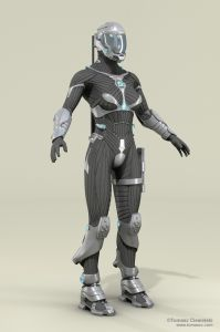 Female armor B 1